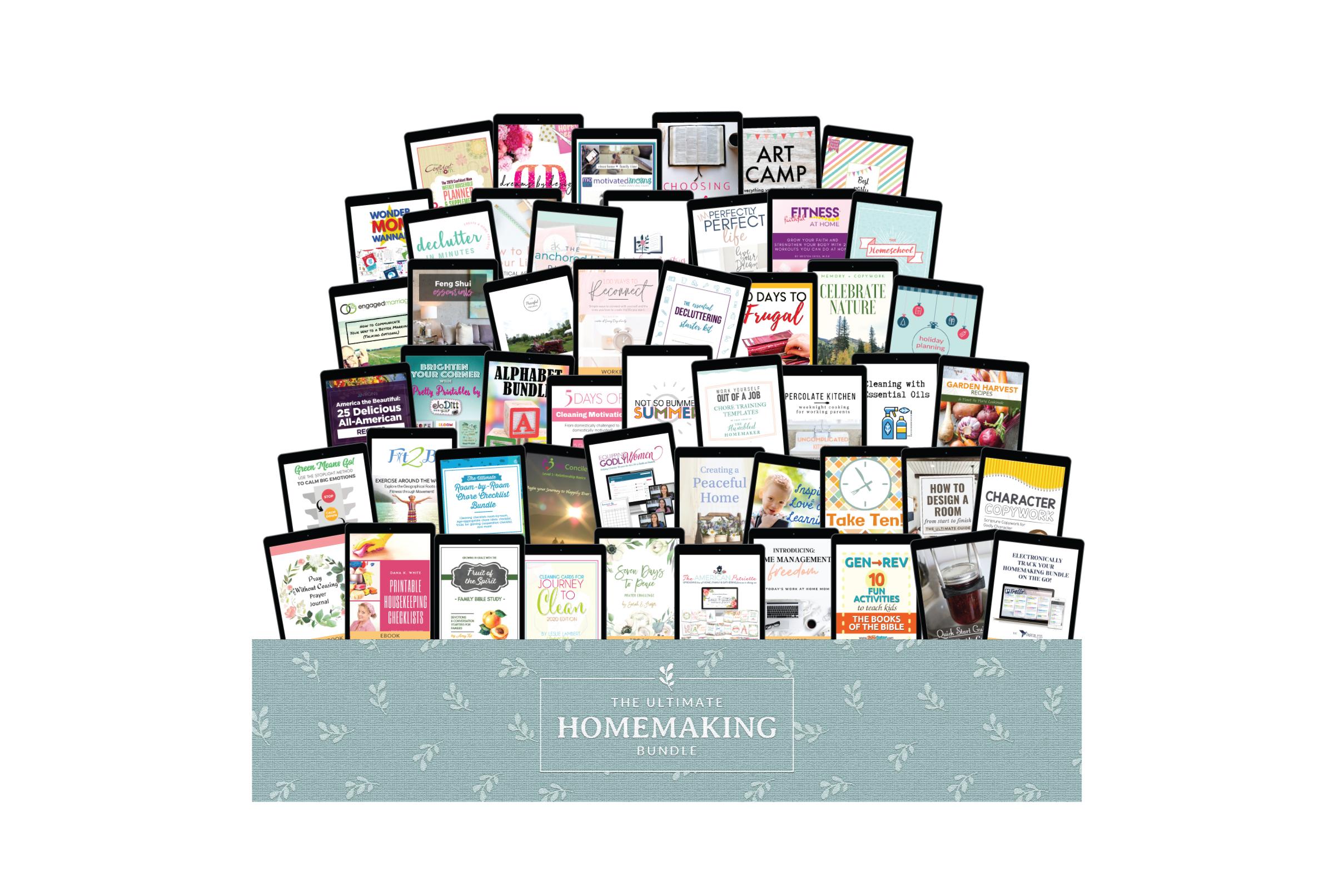 Ultimate Homemaking Bundle 2020