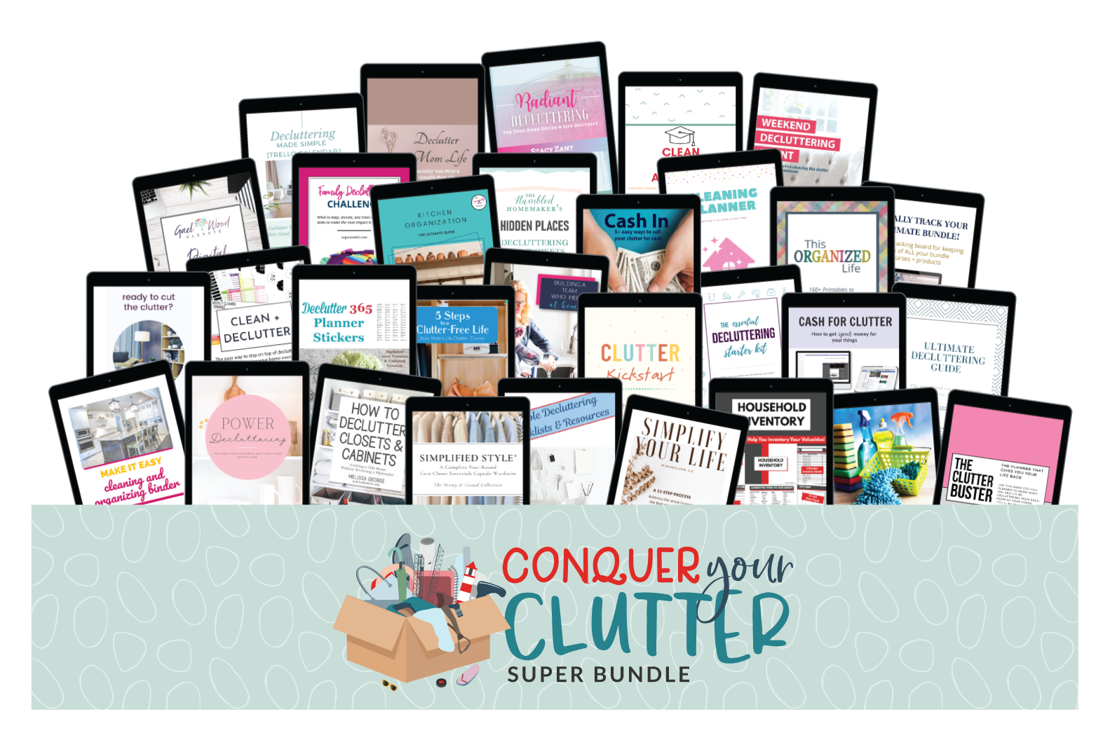 Four Favorite Resources from the Conquer Your Clutter Super Bundle