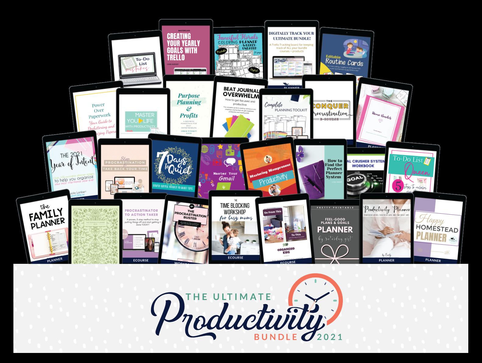 Ultimate Productivity Bundle 2021