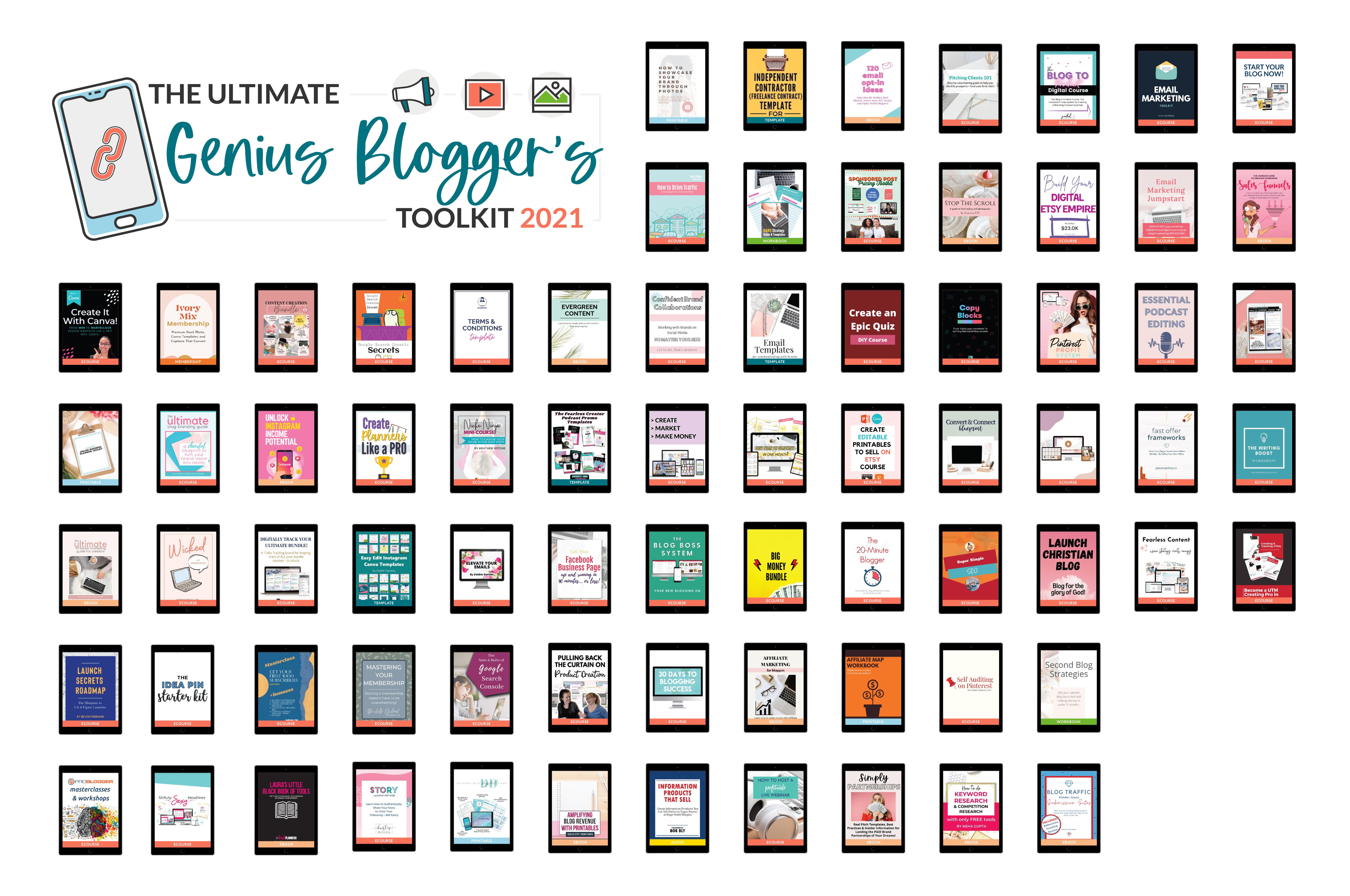 genius blogger's toolkit