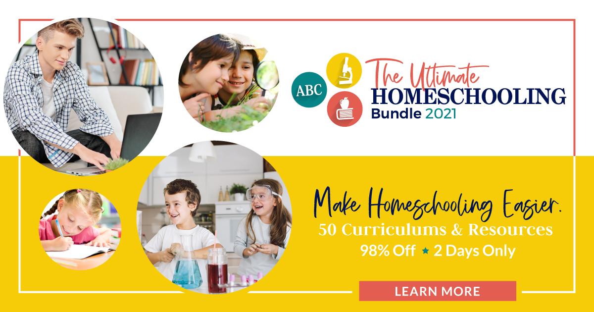 Ultimate Homeschooling Bundle 2021
